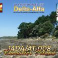 Keen 11m Island Chasers and serious DX Hunters will be stoked with the release of the terrific new QSL card design for D.I.F.M. activity14DA/AT008from Chevalier Island, aminuscule N/V IOTA DXstination […]