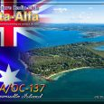 Check out below the brand new QSL card now available from DA-RC HQ Oceania to confirm contacts made on the 11m band with ATNO 43DA/OC-137 Coochiemudlo Island. Conceived by 14DA028 […]